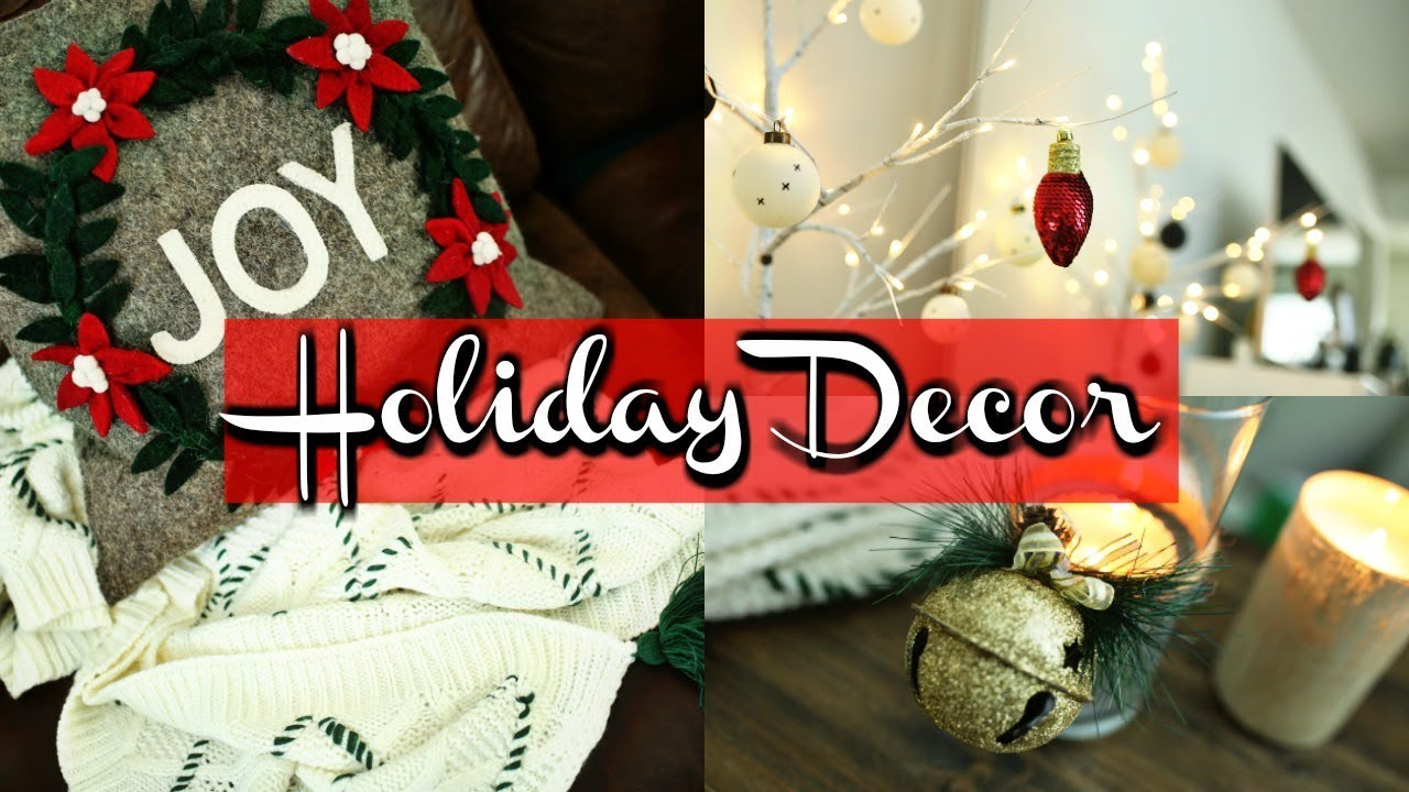 Holiday home decor hearth hand target christmas haul youtube Christmas home decoration youtube