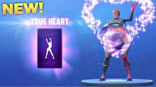*NEW* TRUE HEART FORTNITE DANCE BASS BOOSTED (RIP HEADPHONE USERS)