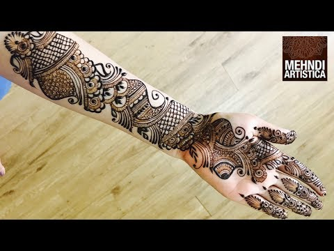 Full hand Mehndi Designs | Best Mehendi Video 2017 thumbnail