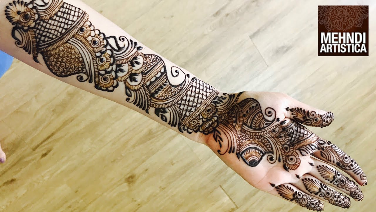Full Hand Mehndi Designs Best Mehendi Video 2017