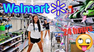 SPENDING THE DAY IN WALMART SHOPPING AND PLAYING GAMES! WHAT DID WE GET?