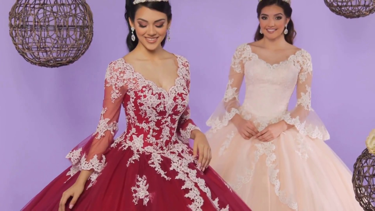 dfadb19af09 Q by DaVinci Quinceanera Dresses  Style 80384 - YouTube