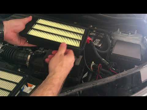 2017 Honda CR-V Engine Air Filter Change