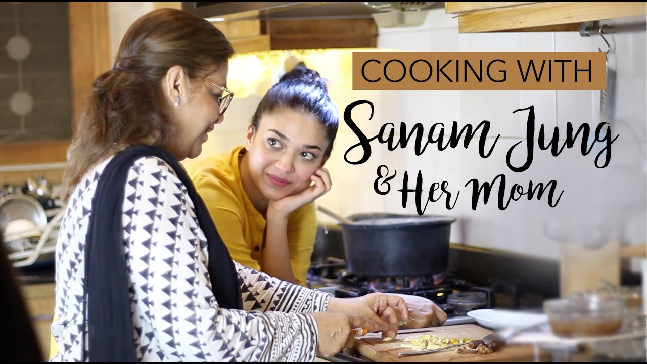 Download SANAM JUNG COOKS WITH HER MOM