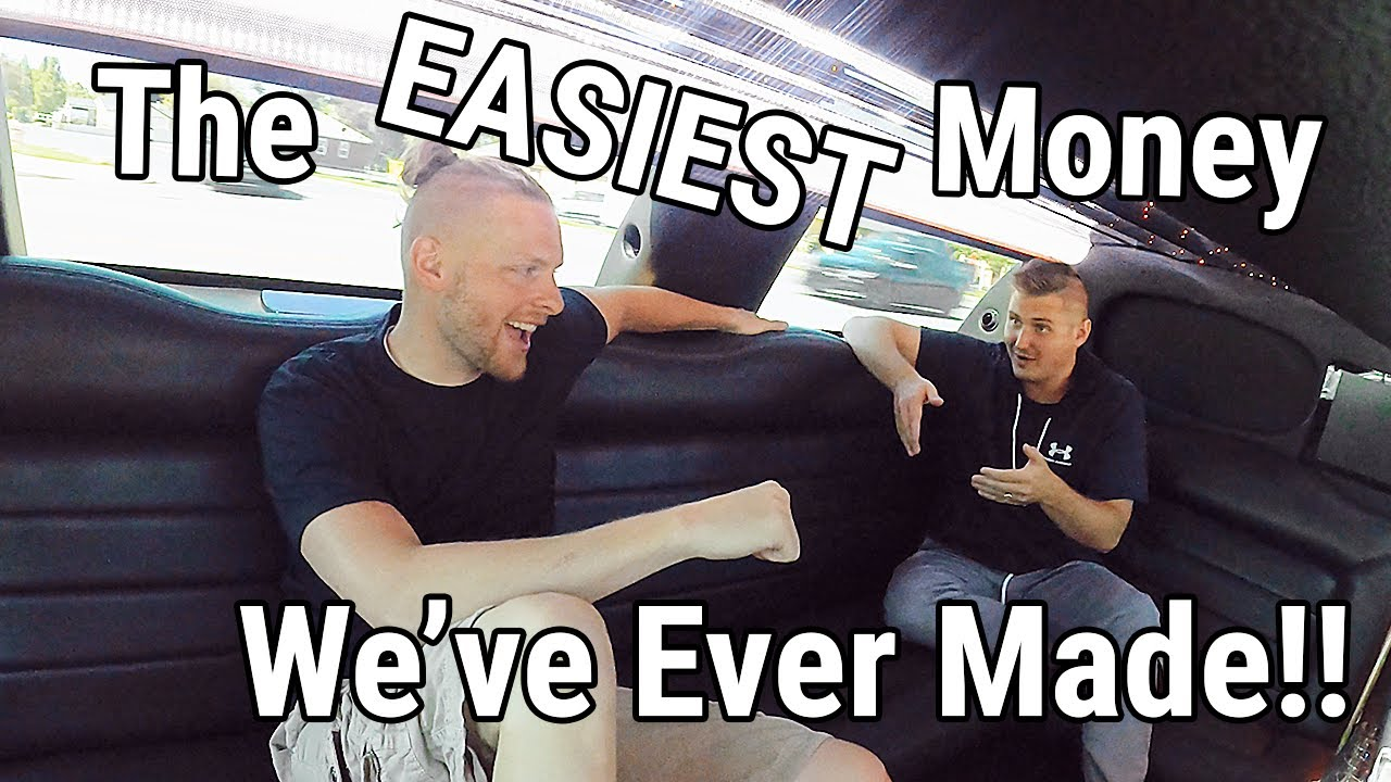 Make Money Playing Video Games | THE EASIEST MONEY WE'VE EVER MADE! #LimoTalk