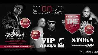 VIP UŽIVO - ZAGREB - GROOVE CLUB - 21.3.2014