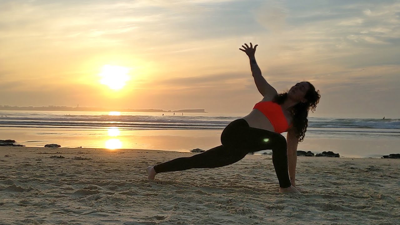 Sunset Dreams - Beach Yoga