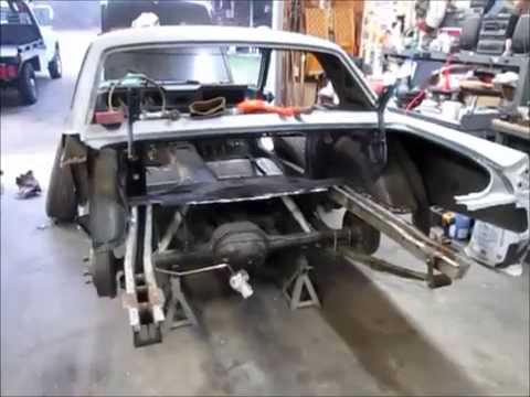 1965 Mustang Trunk Pan And Tail Panel Removal Mystique