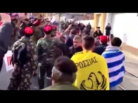 Греки, Армяне и Русские(Казаки) разгромили посольства турции.