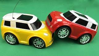 Carros de Carreras para Niños - Autos en Colores Rojo y Amarillo