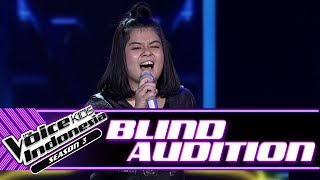 Teresa - Lips Are Movin   Blind Auditions   The Voice Kids Indonesia Season 3 GTV 2018