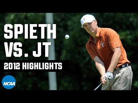 Jordan Spieth vs. Justin Thomas: 2012 NCAA golf highlights