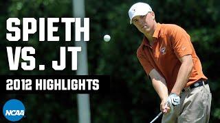 <b>Jordan Spieth</b> vs. Justin Thomas: 2012 NCAA golf highlights ...
