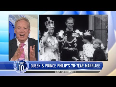 A Royal Update: Queen Elizabeth & Prince Philip Celebrate Milestone   Studio 10