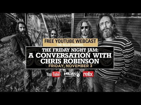 The Friday Night Jam: A Conversation with Chris Robinson Live From Garica's at The Capitol Theatre