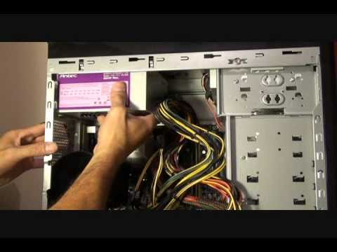How to install Power Supply & Graphics card  speed up 4X