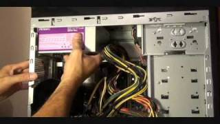 How to install Power Supply & Graphics card..speed up 4X