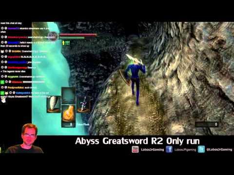 Dark Souls Abyss Greatsword R2 Only Challenge Run