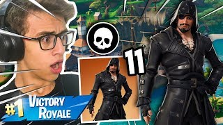 I GOT JACK SPARROW'S SKIN-FORTNITE BATTLE ROYALE