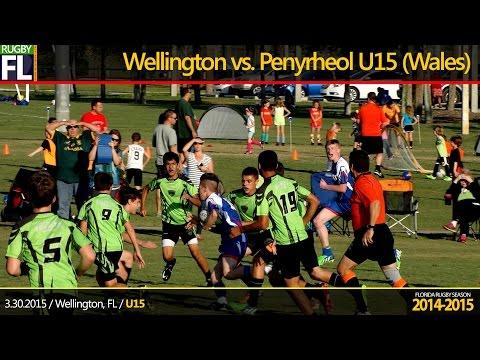 Wellington Wizards U15  vs. Penyrheol U15 (Wales)