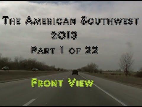 Trip to Las Vegas & California 2013 | 1 of 22 | Omaha, NE to Cozad, NE, | Front
