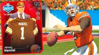 99 OVERALL JOHNNY MANZIEL! Throwback Madden 25 Ultimate Team!