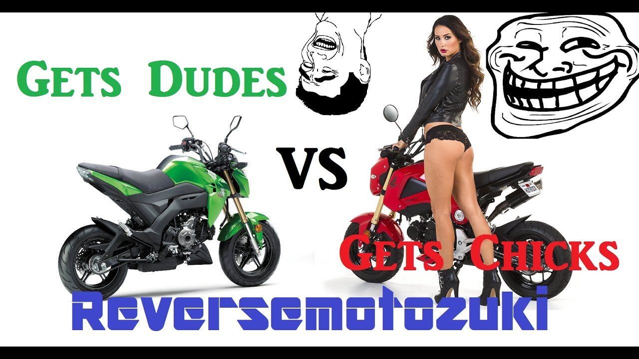 grom vs z125 pro and some douche tries to fight me. - youtube