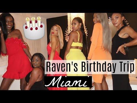 RAVEN ELYSE'S MIAMI BIRTHDAY TRIP , LOST MY PHONE, RAVEN GOT US GIFTS,   DAY 1  Brittany Daniel