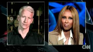Anderson Cooper interviews Iman on Somalian famine- CNN.com