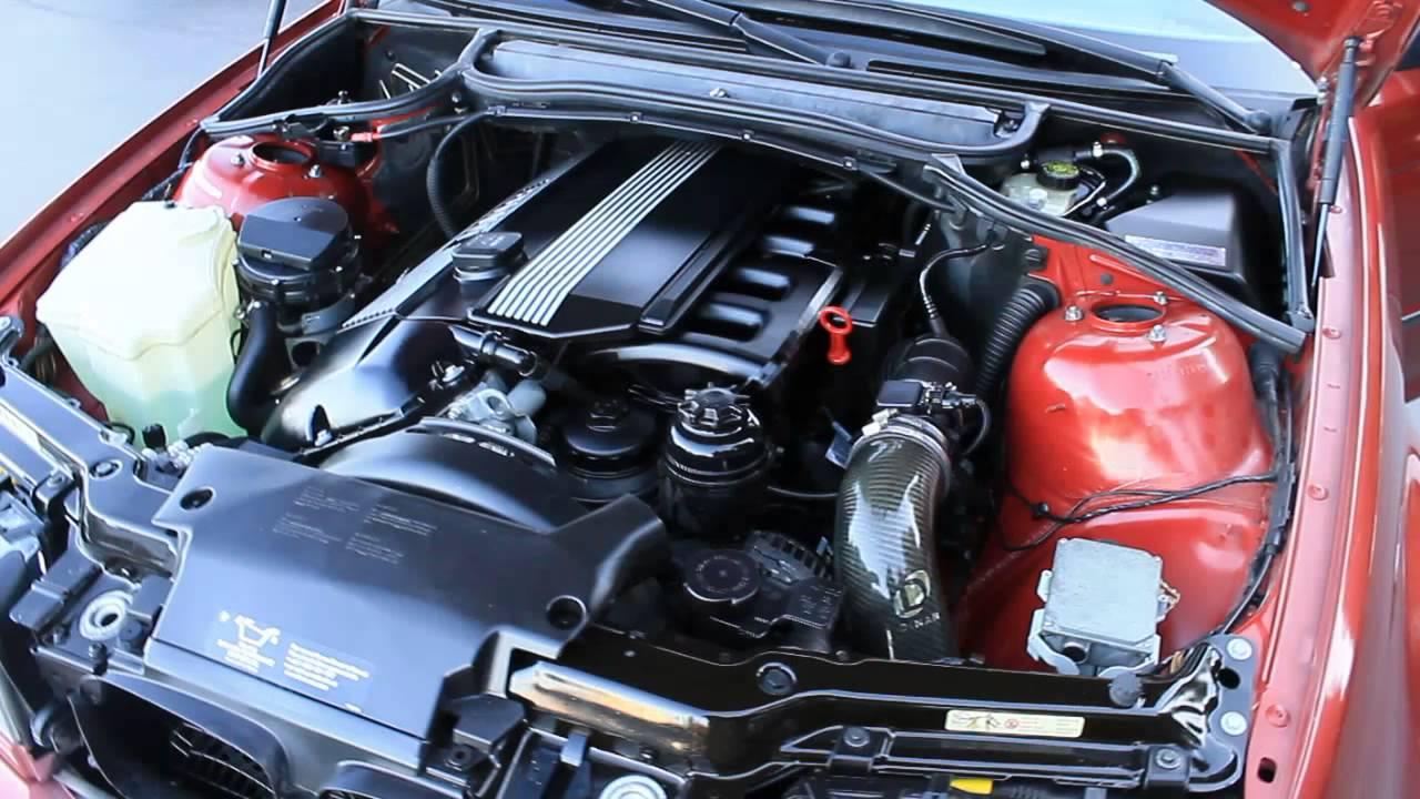 2000 BMW 328i, Red - STOCK# 140051B - Engine