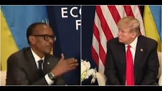 YOU will NOT believe what Rwanda President Kagame Just Told President Donald Trump to his FACE