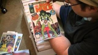 Comic book collection - Unboxing!!!