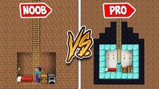 Minecraft - NOOB vs PRO : NOOB FOUND SECRET BASE in SECRET MINE! Minecraft Animation