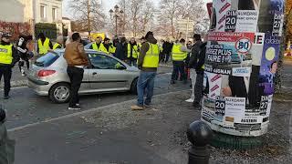 Intrus aux Gilets jaune Auxerre 17 novembre 2018
