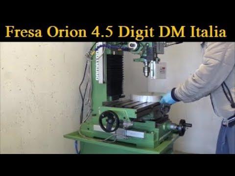 Come Staffare Pezzi Sulla Fresatrice | Orion 4.5 Digit [ How to Brack Pieces On Milling Machine ]