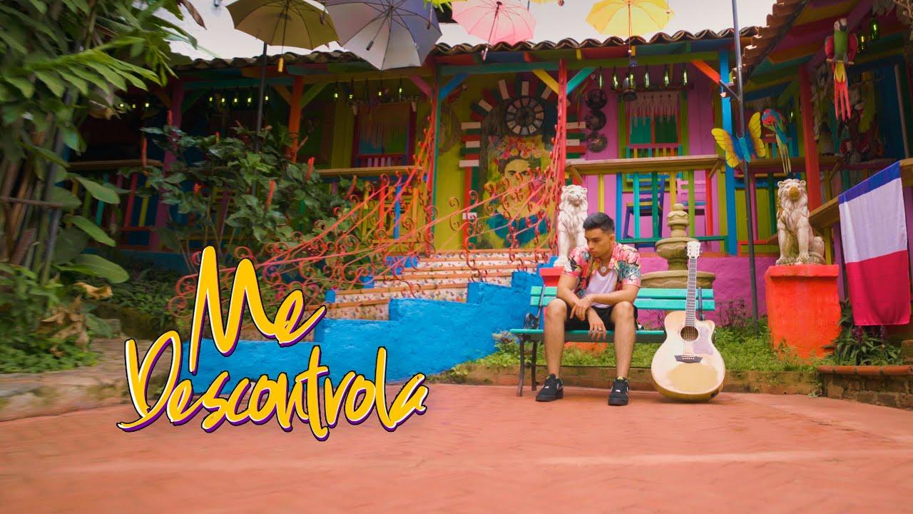 Bayron Mendez - Me Descontrola (Video Oficial)