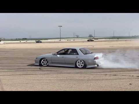Drifting at Import Face-Off in Topeka, KS