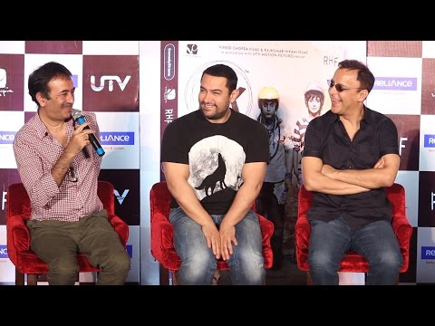 Question Answer Session | Aamir Khan | Rajkumar Hirani | Vidhu Vinod Chopra | PK DVD Lunch