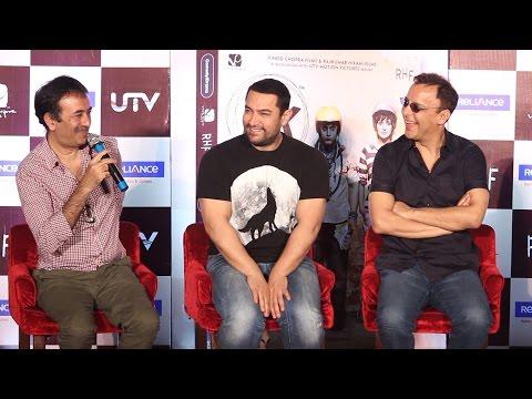 Question Answer Session  Aamir Khan  Rajkumar Hirani  Vidhu Vinod Chopra  PK DVD Lunch