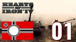 Hearts of Iron IV [01] – Deutsches Reich - Let's Play [Gameplay German / Deutsch]