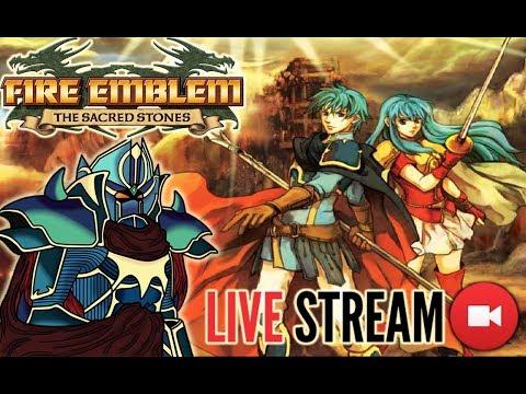 Fire Emblem: The Sacred Stones Live Stream