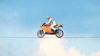 WORLD'S HARDEST MOTORBIKE RACE! (GTA 5 Funny Moments)