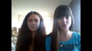 Саша и Настя - Эта песня для тебя(cover)