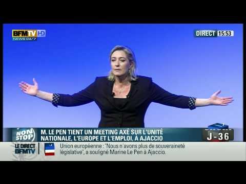 Spéctacle comique Marine Le Pen a Ajaccio One Women Show