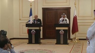 France wants an end to Qatar crisis thumbnail