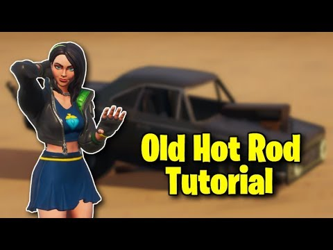 How To Make An Old Hot Rod In Fortnite Creative!