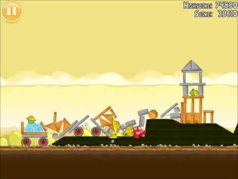 Official Angry Birds Walkthrough The Big Setup 10-13 - YouTube