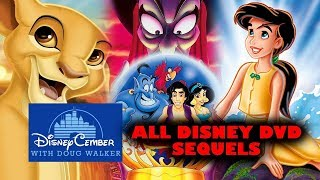 All Disney Direct to DVD Movies - Disneycember