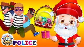 Download Video ChuChu TV Police Christmas Episode - Saving The Christmas Gifts from Thieves - ChuChu TV Surprise MP3 3GP MP4