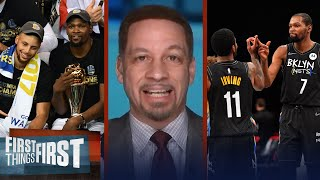 Steph is the best shooter in NBA history; Nets need improvement - Broussard | FIRST THINGS FIRST